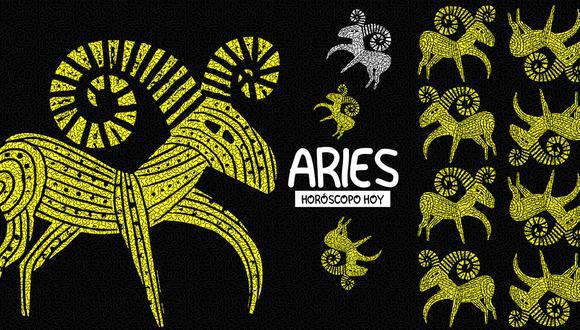 """Aries, conoce lo que te deparan las estrellas para el lunes 14 de junio, según el horóscopo del suplemento """"Luces"""". Ilustración: El Comercio."""