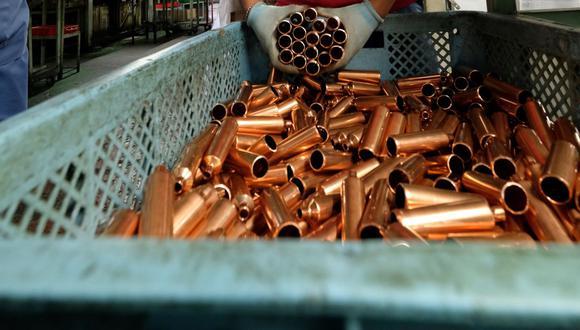 El cobre se cotiza a US$3,6 la libra esta semana. (Foto: AFP)