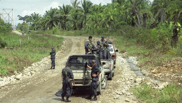Doce militares y dos civiles muertos dejó como saldo una emboscada de una columna de Sendero Luminoso en el distrito de Tintay Puncu, ubicada en la provincia de Tayacaja, en Huancavelica