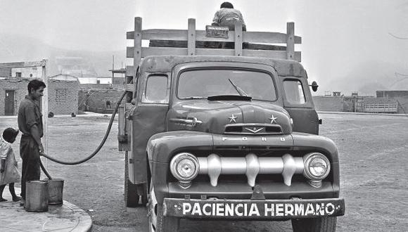 Entre aguateros y camiones: la historia del agua en Lima