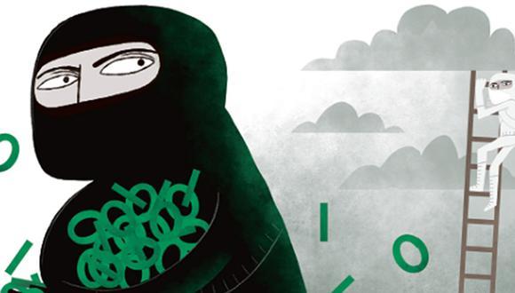 """""""El hacker actúa por curiosidad y el cracker, por obtener un beneficio más allá del conocimiento"""" (Ilustración: Víctor Aguilar)"""