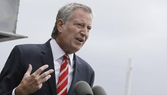 Bill de Blasio, alcalde demócrata de Nueva York. (Foto: EFE)