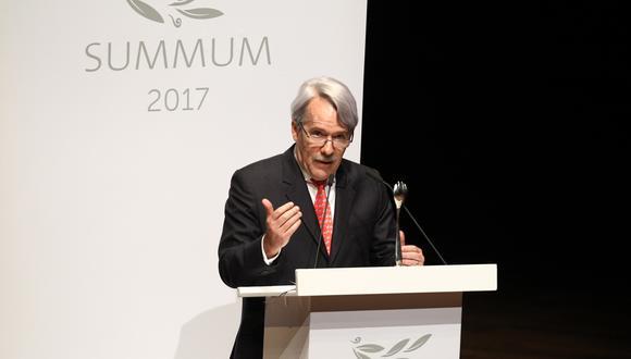Alfredo Torres destaca la incorporación este año de los premios Summum a Mejor Cocina de Autor, Mejor Productor y a la Investigación. (Foto: El Comercio)
