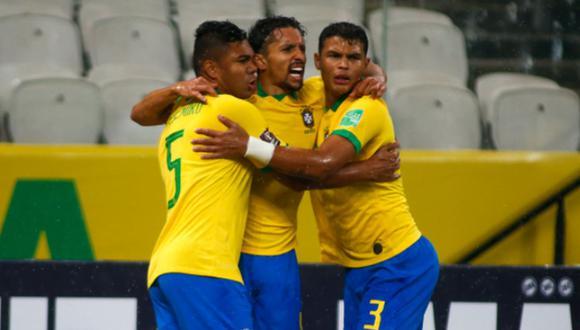 Brasil se impone a Bolivia en Sao Paulo en el arranque de las Eliminatorias Qatar 2022   Foto: @CBF_Futebol
