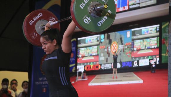 La Federación de Pesas pudo organizar el Mundial Virtual Sub 17 desde la Videna. Estrella Salgarriaga ganó tres preseas doradas en ese certamen. (Foto: Legado Lima 2019)