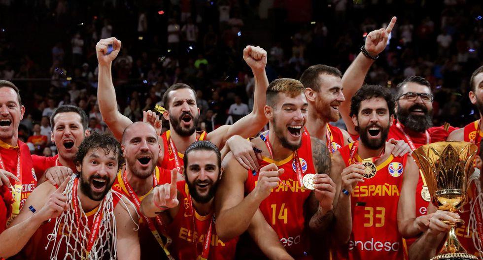 España consiguió su segundo título mundial tras vencer 95-75 a Argentina | Foto: EFE