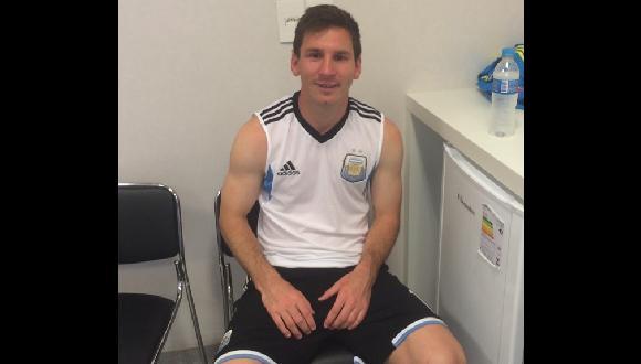 Messi y el mensaje que dejó a sus seguidores por la victoria