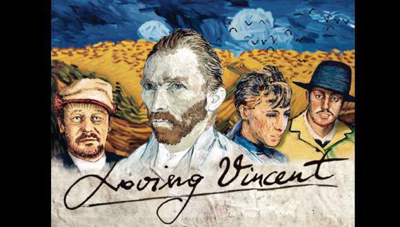 Vincent van Gogh: Autorretrato animado