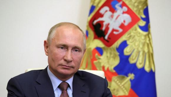 """""""Vamos a trabajar con el jefe del Estado que elija el pueblo estadounidense"""", ha dicho Vladimir Putin. (Foto: Mikhail KLIMENTYEV / SPUTNIK / AFP)."""
