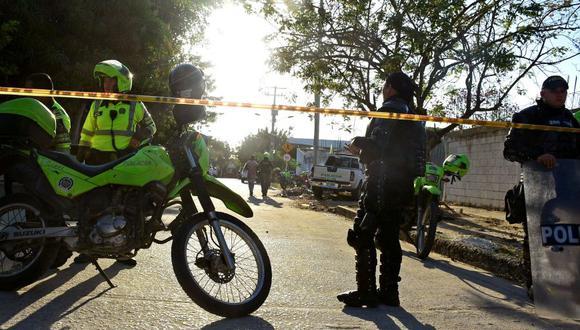 Barranquilla: Ataque con bomba deja 5 muertos y 41 heridos. (Foto: Reuters)