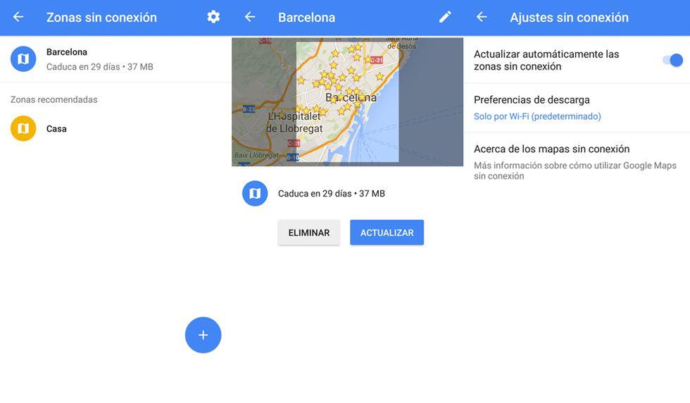 Google Maps Truco Como Descargar Un Mapa Y Usarlo Sin Conexion