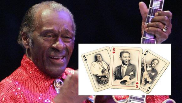 Chuck Berry y otros influyentes músicos que partieron