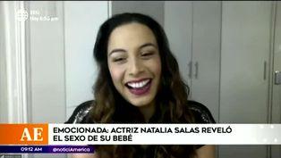 Natalia Salas sorprende a sus seguidores revelando el sexo de su bebé