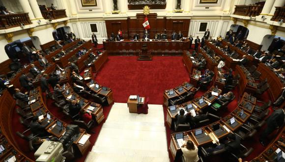 Seis bancadas se mostraron en contra del requerimiento fiscal que pide la disolución del Partido Nacionalista Peruano sindicado por el Ministerio Público como una organización criminal. (Foto: GEC)