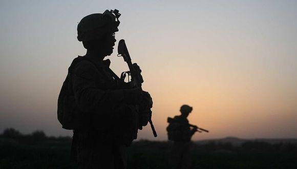 El Cuerpo de Marines de los Estados Unidos en Herati, Afganistán, en el 2009. (Getty Images).