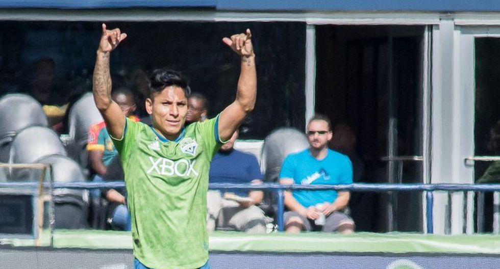 Delantero: Raúl Ruidíaz - Seattle Sounders. (Foto: AFP)