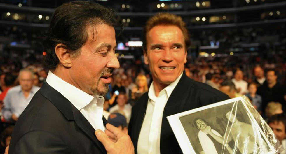 Schwarzenegger y Stallone: de enemigos a inseparables amigos - 4