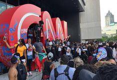 Manifestantes violentos atacan sede de CNN en Atlanta durante protesta por muerte de George Floyd | VIDEO