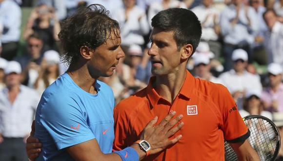 Wimbledon: Djokovic y Nadal no se verían hasta la final