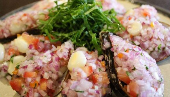 Choritos a la chalaca. (Foto: Facebook Reyes Marinos Restaurante)