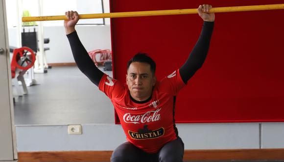Se pensó que Christian Cueva entrenaría en la Videna durante este tiempo, pero no hubo noticias al respecto. (Foto: AFP)