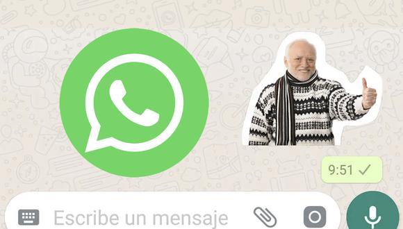 ¿Cómo hacer stickers para WhatsApp? (Foto: Montaje)
