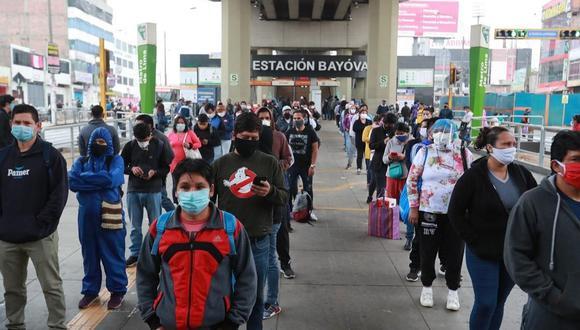 El Ministerio de Salud actualizó las cifras del coronavirus en Perú este sábado. (Foto: Leandro Britto/GEC).