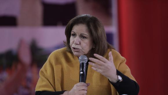 Lourdes Flores Nano explicó los argumentos que presentó ante el JNE sobre la nulidad de actas. (Foto: Anthony Niño de Guzmán / @photo.gec)