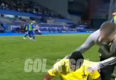 Gustavo Dulanto le dedicó al Perú la clasificación a la Champions League en eufórico festejo | VIDEO