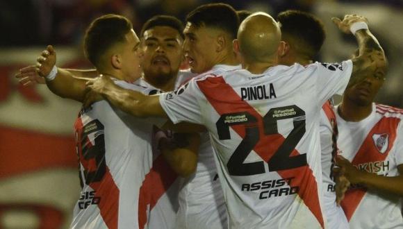 River Plate vs. Godoy Cruz. (Foto: Twitter River Plate)