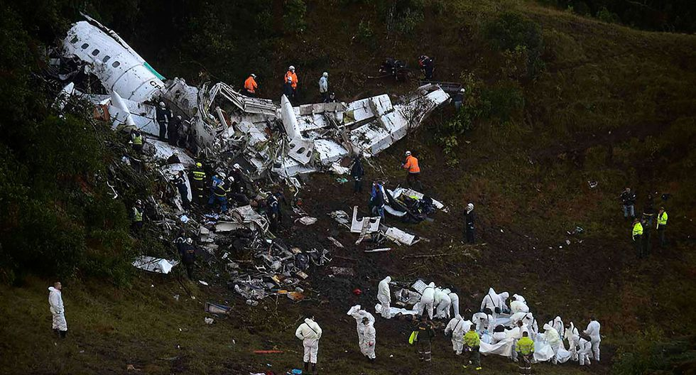 Aseguradora insiste en que no pagará indemnización a víctimas del Chapecoense (Foto: AFP)