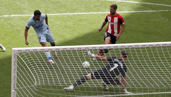 Marcó Diego Costa pero no fue suficiente para el Atlético de Madrid   Foto: EFE