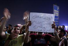 Estalla inusual ola de protestas contra el presidente de Egipto Al Sisi | FOTOS