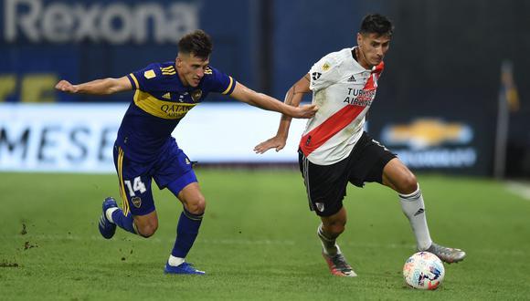 Boca vs River no solo chocarán en la Copa Argentina sino también en la Liga | Foto: AFP