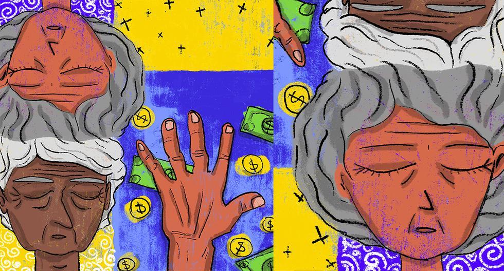 En la actualidad, el Estado gasta anualmente más de S/2.500 millones en financiar las planillas de Pensión 65 y ONP. (Ilustración: Giovanni Tazza)