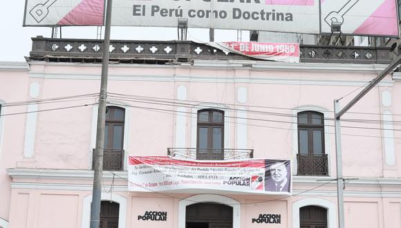 El partido Acción Popular realizó un plenario nacional para definir su respaldo a alguno de los dos candidatos que pasaron a la segunda vuelta de las Elecciones 2021. (Foto: Juan Ponce Valenzuela / GEC)