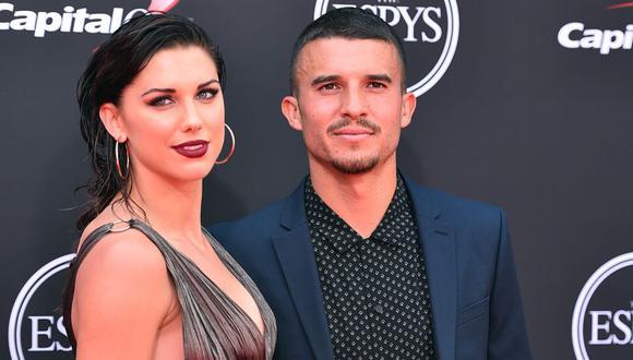 Alexandra Patricia Morgan, más conocida como Alex Morgan, es una futbolista profesional estadounidense y escritora, que está casada con el también futbolista Servando Carrasco. (Foto: AFP)