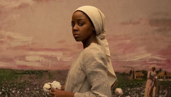"Cora Randall (Thuso Mbedu), protagoniza ""The Underground Railroad"". (AMAZON STUDIOS)."