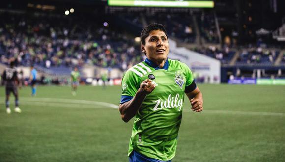 Raúl Ruidíaz aparece en el once ideal de la MLS. (Foto: Seattle Sounders)