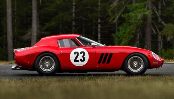 Solo se fabricaron 36 unidades del Ferrari 250 GTO. (Foto: Difusión)