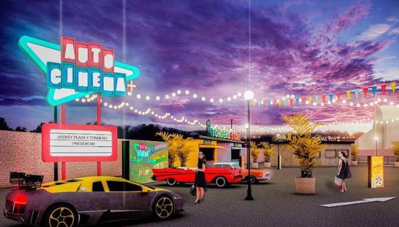 Autocinema+ abrirá sus puertas desde el 26 de julio. (Foto: 3 Puntos Comunicación Creativa)