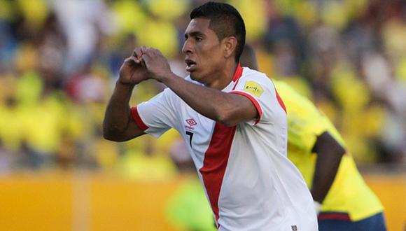 Paolo Hurtado hizo un gol a Ecuador en las Eliminatorias. (Getty Images)