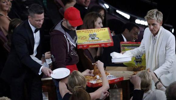 La pizza que se volvió famosa en la gala del Oscar