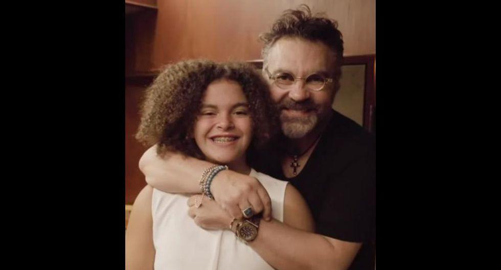 Lucero y su padre: el cantante Manuel Mijares. (Foto: Instagram)