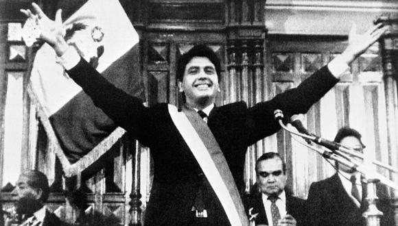 Primer mandato de Alan García. (Foto: Archivo El Comercio)