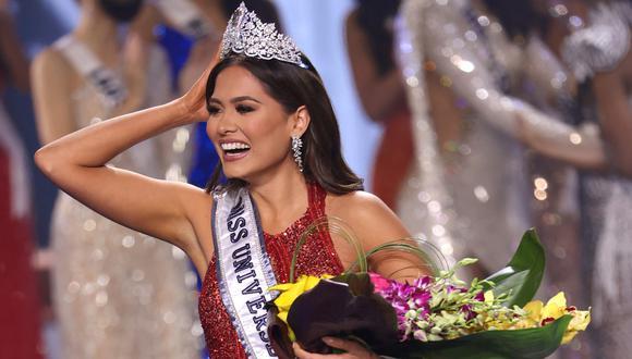 El triunfo de Andrea Meza fue celebrado en todo México. (Foto: AP)