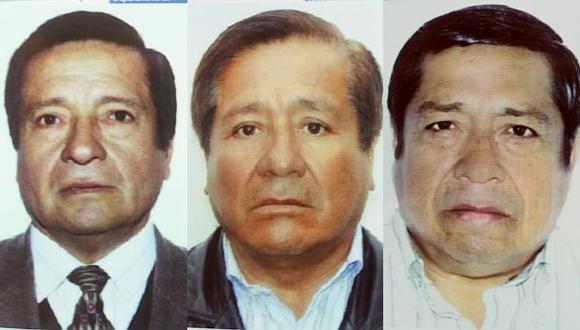 Los hermanos Orlando, Manuel y Fortunato Sánchez Paredes pasaron a juicio oral por presunto lavado de activos. (Foto: Reniec)