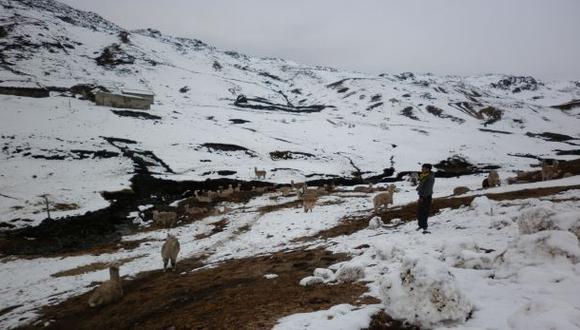 Huancavelica soportará las temperaturas más bajas del invierno