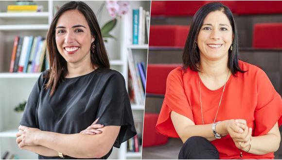 Marlene Molero (izquierda) es cofundadora de Genderlab y máster en género, políticas públicas y desigualdad. Norma Correa (derecha) se desempeña como antropóloga, y es especialista en políticas públicas de la PUCP. (Foto: Difusión)