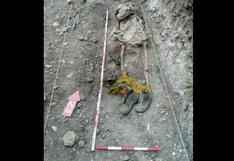 Huancavelica: hallan restos óseos durante excavaciones en distrito de Lircay